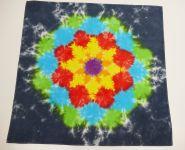 Duhová mandala šátek