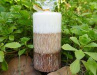 VONNÁ svíčka KOKOS válec 5x9cm
