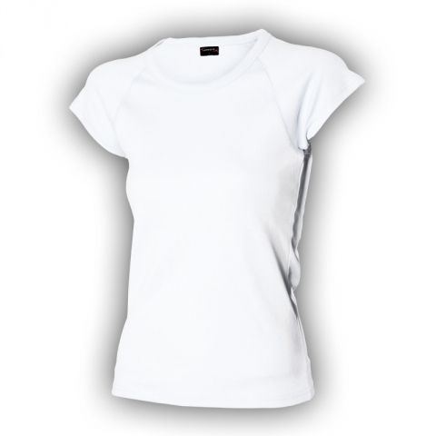 Bílé dámské tričko vysoká gramáž