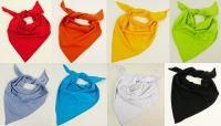 Bavlněné šátky různé barvy