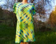 Dámské dlouhé tričko (šaty) GREEN MIX, M