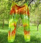 Batikované kalhoty Happy