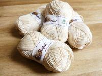100% bavlna na pletení klubka