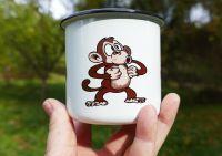 Hrneček plecháček Opice