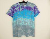 Batikované tričko SVĚTLÉ ŠEDÉ, L