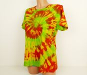 Dámské batikované tričko HAPPY MIX, XL