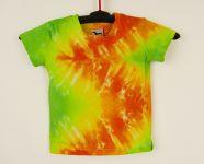 Dětské barevné tričko