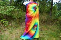 Velký duhový šátek pareo