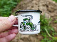 Traktor hrneček mini plecháček