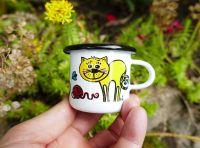 Kočky plecháček hrneček mini