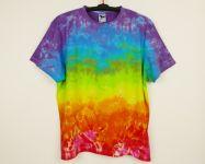 Batikované tričko Duhová fantazie