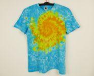 Batikované tričko Slunce na nebi