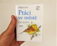 Kniha ptáci ve městě encyklopedie do kapsy