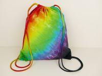Duhový vak na záda batoh s kapsou