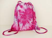 Vak na záda růžový batoh