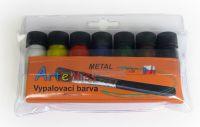 Barvy na porcelán METALICKÉ vypalovací
