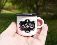 Hrneček plecháček Coffee time