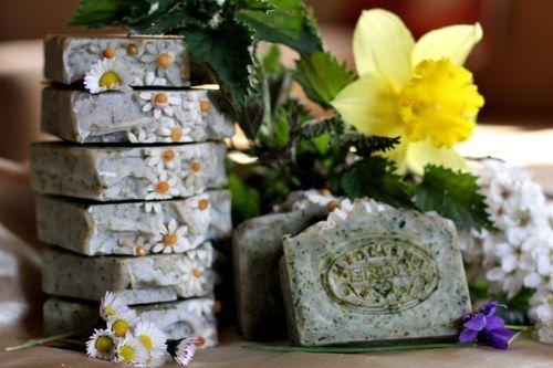 Kopřivy - přírodní mýdlo