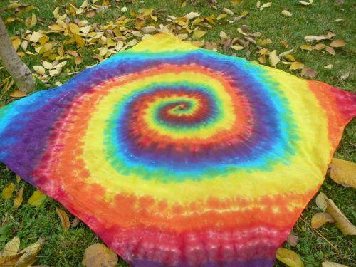 Duhový šátek pareo sarong batika