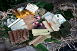 MUMIO hojivé mýdlo s pryskyřicí a bylinkami 20g vzorek ERDÉ