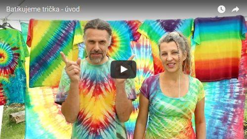 Video kurz batikujeme trička