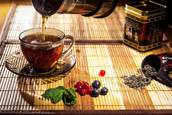 Kvalitní čaje zelený čaj-černý čaj