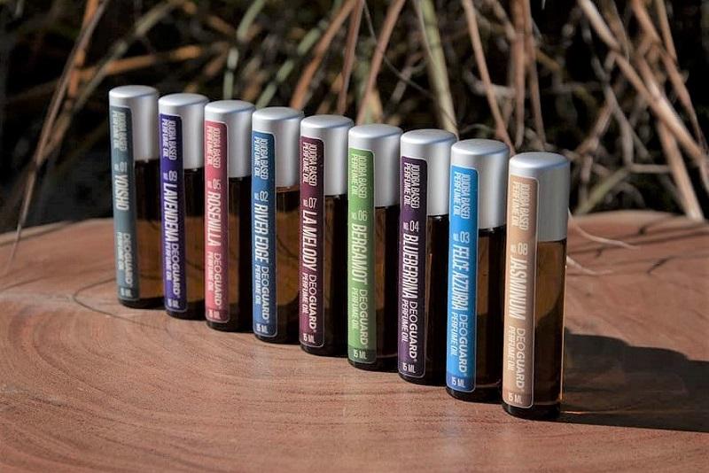Luxusní přírodní parfémové oleje roll on