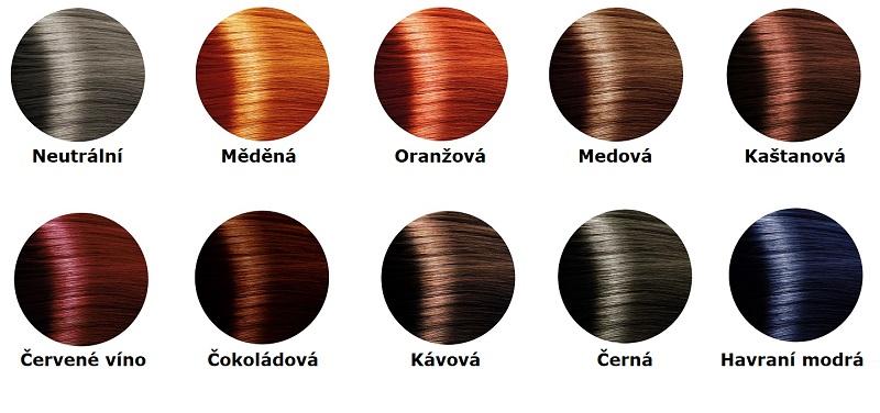 Přírodní barvy na vlasy bez chemie Henna