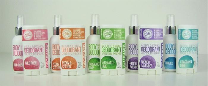 Přírodní deodoranty bez chemie s hořčíkem